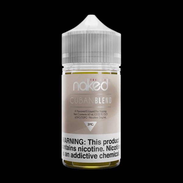 جوس نیکد کوبان بلند NAKED100 Cuban Blend Tobacco 60 ml NIC 3