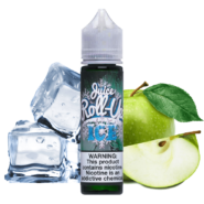 جوس رول آپز ROLL UPZ JUICE Green Apple Ice 60 ml NIC 3