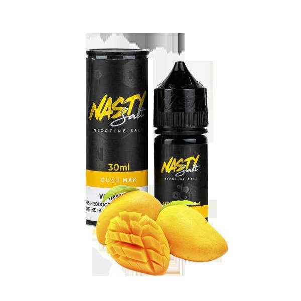 سالت نستی کاشمن Nasty Salt cush man 30 ML NIC 50