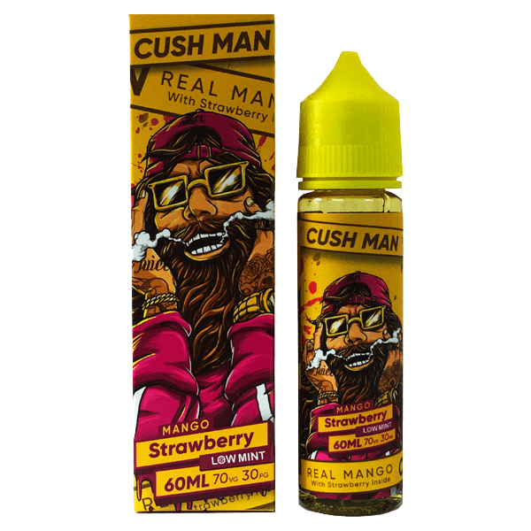 جوس نستی کاشمن NASTY JUICE CUSH MAN SERIES MANGO STRAWBERRY 60 ML NIC 3