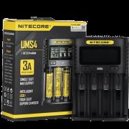 شارژر نایکرو Nitecore UMS4 Intelligent USB CHARGER