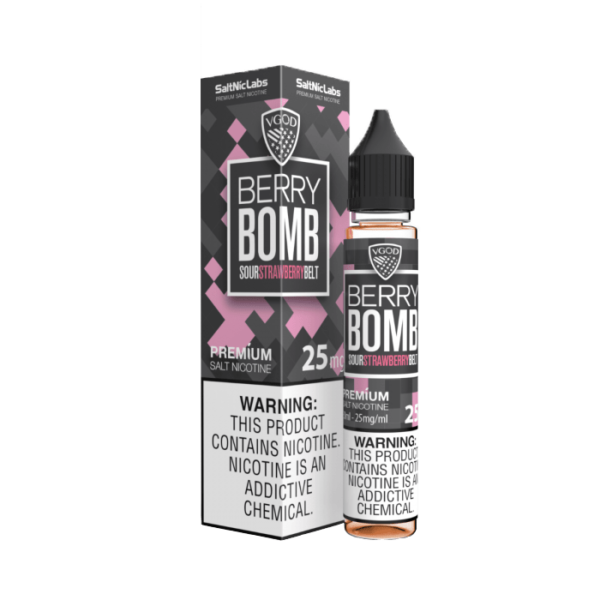 سالت ویگاد بری بمب VGOD SaltNic Berry Bomb 25 MG