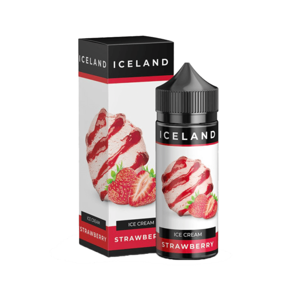 جوس پراید ویپ PRIDEVAPE ICELAND STRAWBERRY 120 ML NIC 3