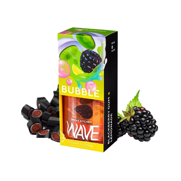 جوس اسموک کیچن SmokeKitchen Wave Bubble 100 ML NIC 3