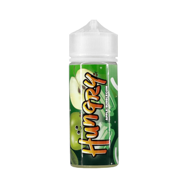 جوس هانگری HUNGRY Apple Bubblegum 120ML NIC 3
