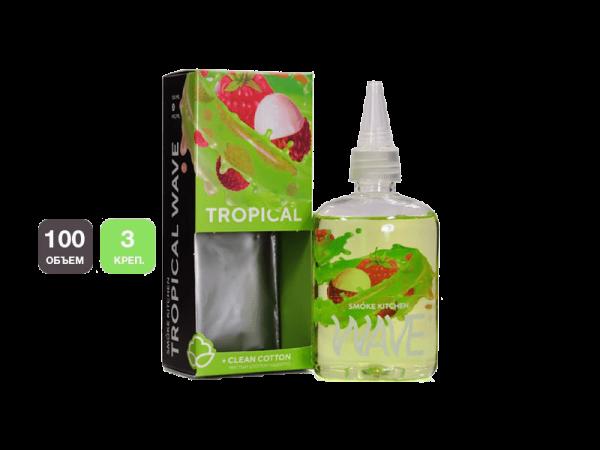 جوس اسموک کیچن smokekitchen tropical 100 ml NIC 3