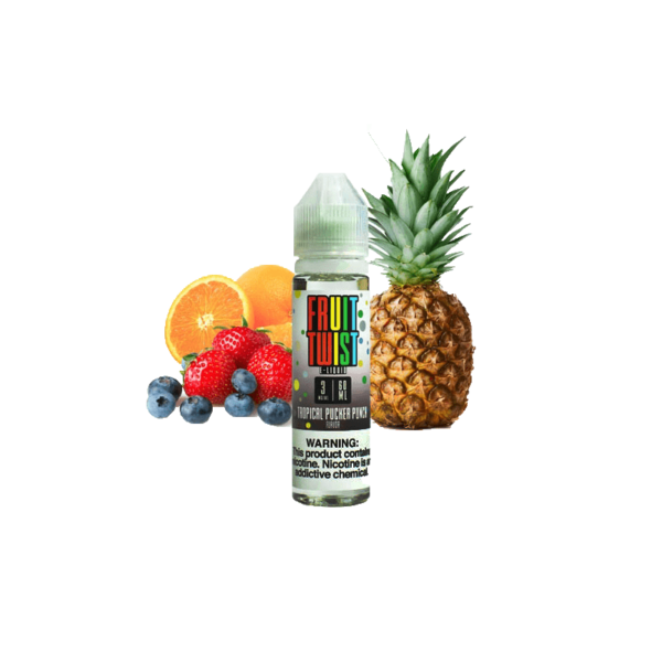 جوس توئیسد twistedliquid TROPICAL PUCKER PUNCH 60 ml NIC 3