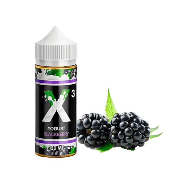 جوس پراید ویپ PRIDEVAPE X3 YOGURT BLACKBERRY 120 ml