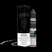 سالت ویگاد کوبانو بلک VGOD CUBANO BLACK SALTNIC 30 ML 25 MG