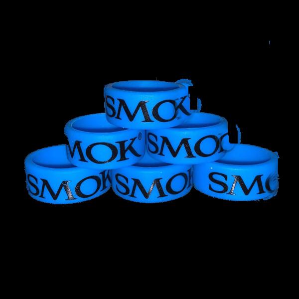 محافظ گلس اسموک Smok Vape silicone blue rings