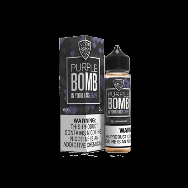جوس ویگاد انگور VGOD PURPLE BOMB GRAPE 60 ML NIC 3