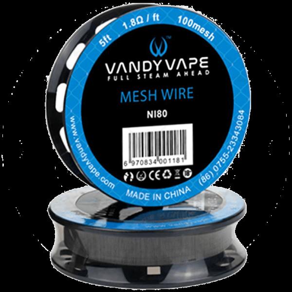 وایر وندی ویپ مش VANDY VAPE MESH WIRE NI 80 5FT 1.8 OHM