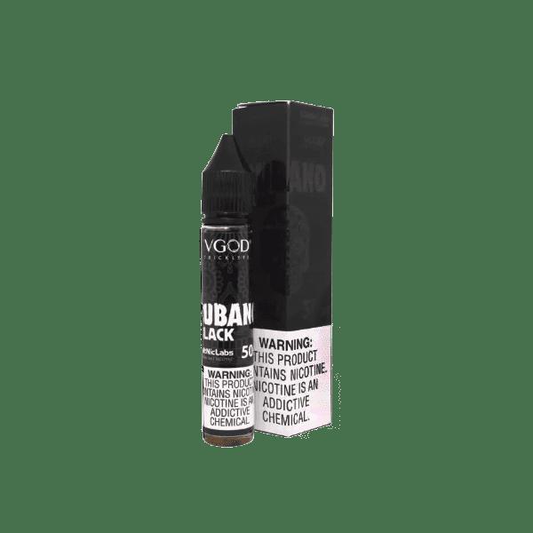 سالت ویگاد کوبانو بلک VGOD CUBANO BLACK SALTNIC 50 MG