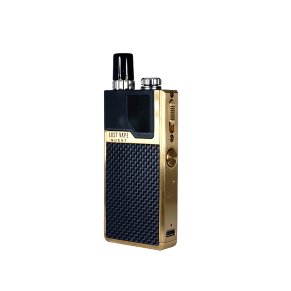 پاد لاست ویپ کیو LOST VAPE Q POD GOLD – BLACK WEAVE