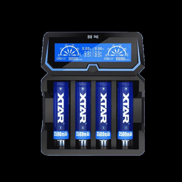 شارژر اکستار ۴ خشاب XTAR X4 CHARGER