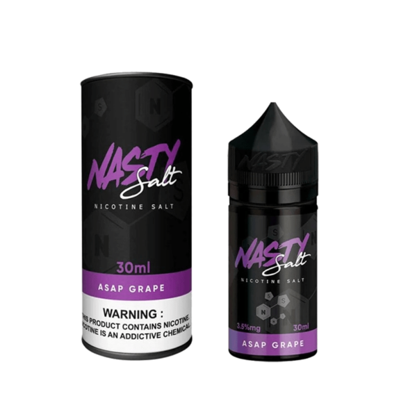 سالت نستی انگور Nasty AsAP GRAPE SALTNIC 30 ML 35 NIC