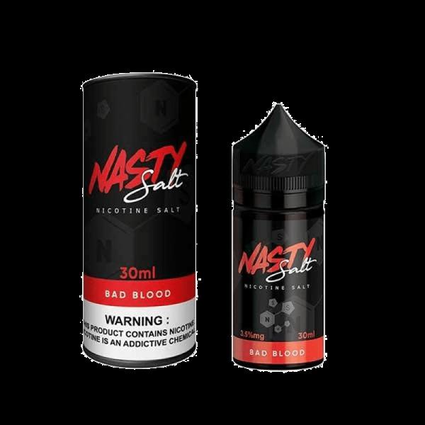 سالت نستی بد بلاد Nasty Bad Blood SALTNIC 30 ML NIC 35