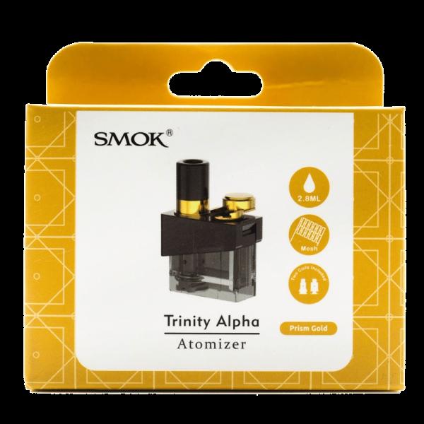 کارتریج اسموک ترینیتی آلفا SMOK TRINITY ALPHA CARTRIDGE PRISM GOLD